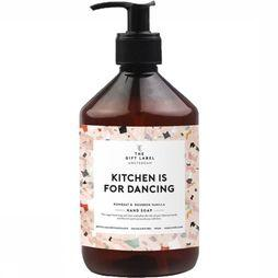 The Gift Label Savon Kitchen Is For Dancing Rose Clair/Assortiment