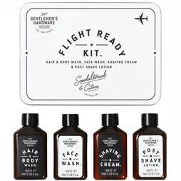 Gentlemen's Hardware Verzorgingsaccessoire Flight Ready Kit Zilver