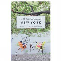 Boek The 500 Hidden Secrets Of New York