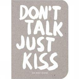 Bispublishers Boek Don't Talk Just Kiss Assortiment