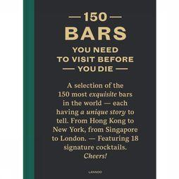 Lannoo Livre 150 Bars You need To Visit before You Die Pas de couleur