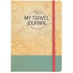 Deltas Boek My Travel Journal Geen kleur