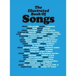 Luster Livre en Anglais The Illustrated Book of Songs Pas de couleur