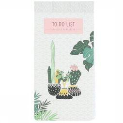 Deltas Boek To Do-List Plants Geen kleur