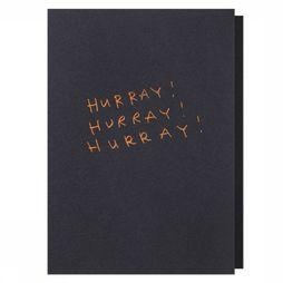 Papette Carte de Voeux Hot Copper Hurrayhurray Pas de couleur