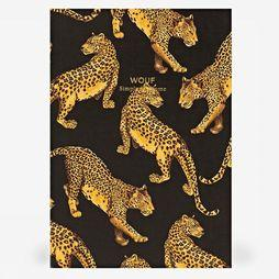 Papierwaren A5 Daily Notebook Black Leopard