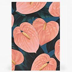 Papierwaren A5 Daily Notebook Lily