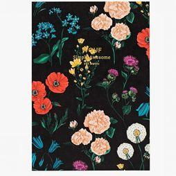 Papierwaren A6 Pocket Notebook Blossom