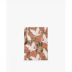 WOU Papeterie Notebook A5 Sunset Lagoon Orange/Blanc