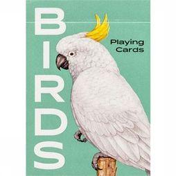 Laurence King Spel Birds Playing Cards Geen kleur