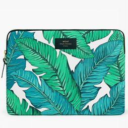 "Wouf Laptophoes 13"" Tropical Wit/Middengroen"