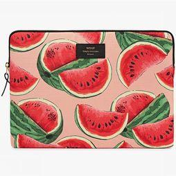 "Wouf Laptophoes 13"" Watermelon Rood/Middenroze"