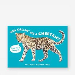 Laurence King Jeu You Callin Me A Cheetah? Pas de couleur