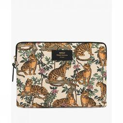Wouf Bureau Accessoire Ipad Sleeve Lazy Jungle Wit/Oranje