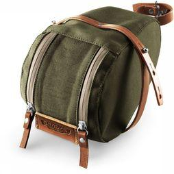 Brooks Isle Of Wight Saddle Bag Kaki Moyen