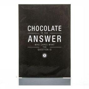 Carte De Voeux Chocolate Is The Answer