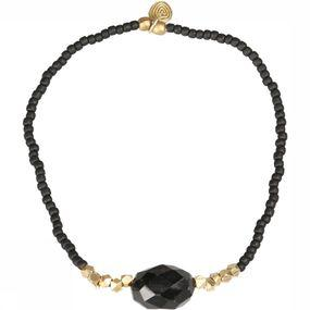 Armband Joy Black Onyx Gold