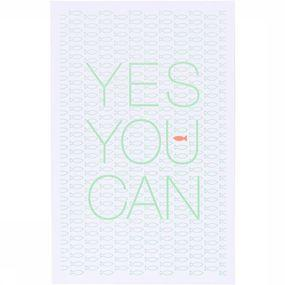 Wenskaart Yes You Can