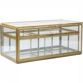 Glassbox With Removable Trays
