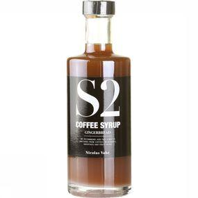 Coffee syrup gingerbread