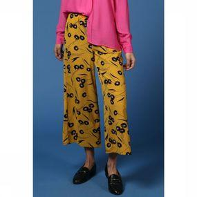 Pantalon Callie Flower Cropped