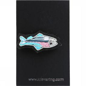 Accessoire Textile Embroidered Sea Brooches Set of 3