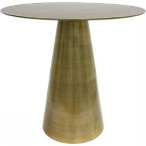 Tafel Brass Side Table