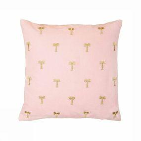 Coussin Palm Tree Pink 40 x 40