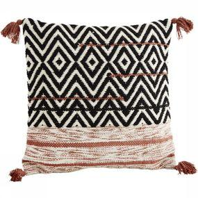 Coussin Cover With Tassels