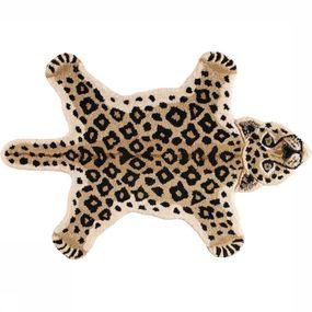 Tapis Looy Leopard Rug Small