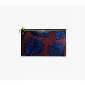Accessoire leaves pocket clutch