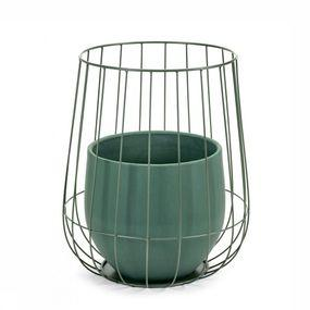 Pot In A Cage 37X46