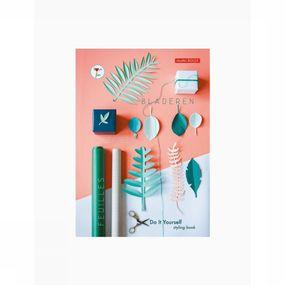 Decoration Styling Book Green Leaves