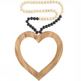 Decoration Love Mala Black Dip