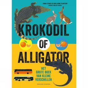 Livre en Néerlandais Krokodil Of Alligator