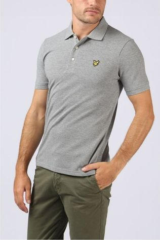 Lyle & Scott Polo 1802-Sp400Vb Gris Clair Mélange
