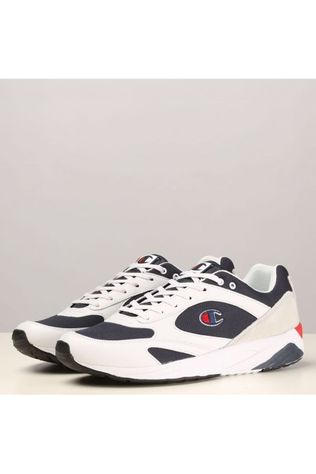 Champion Sneaker Torrence Men Low Wit/Donkerblauw