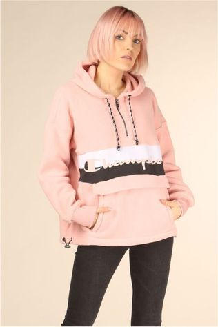 Champion Pull 112150 Rose Clair/Blanc