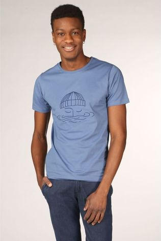 Bask in the Sun T-Shirt Sailor Middenblauw
