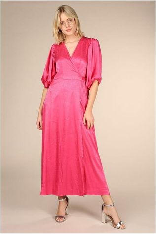 Co'Couture Jurk Gilmour Wrap Fuchsia