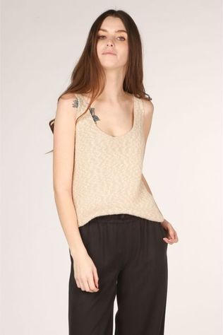 Nosho T-Shirt Top Lore Brun Sable