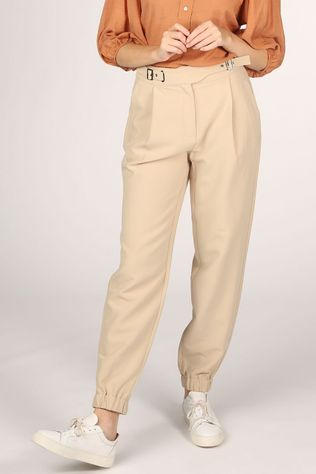 Co'Couture Pantalon Baggy Ecru