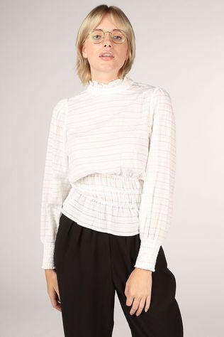 Co'Couture Blouse Kerry Smock Blanc Cassé