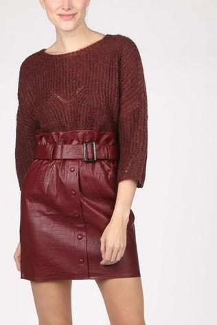 Orfeo Pull Orf Helena Bordeaux / Marron
