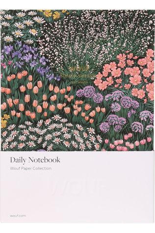 Wouf Papeterie Notebook A5 Meadow Collection Assorti / Mixte/Ass. Fleur