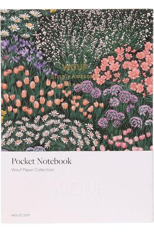 Wouf Papeterie Notebook A6 Meadow Collection Assorti / Mixte/Ass. Fleur