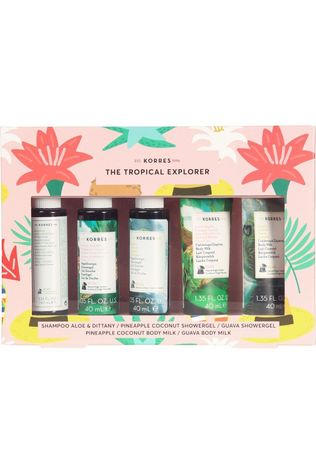 Korres Tropical Explorer Mini Set Blanc/Vert Moyen