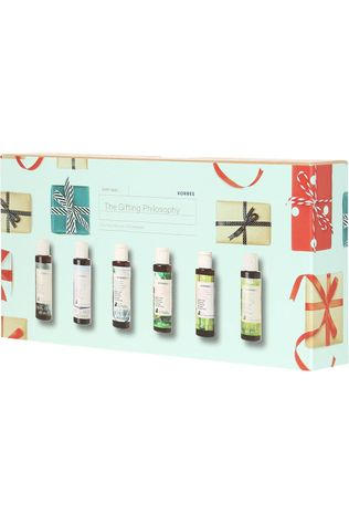 Korres Douchegel The Gifting Philosophy Mini Set Geen kleur / Transparant
