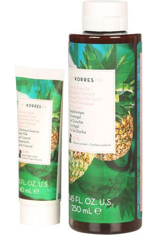 Korres Douchegel The Pineapple Coconut Surprise Mixed Set Geen kleur / Transparant