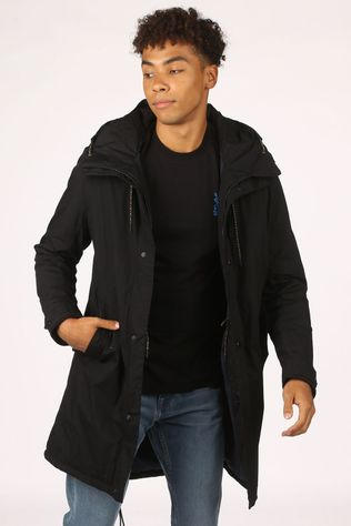 Selected Manteau sustainable Iconic Noir